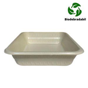 Caserola BIOdegradabila cu 1 compartiment, Bax