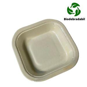 Caserola BIOdegradabila 1 compartiment patrata