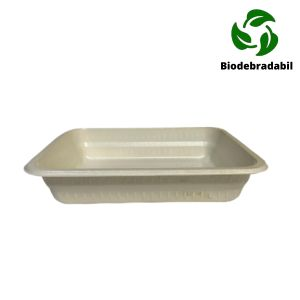 Caserola BIOdegradabila 1 compartiment mica