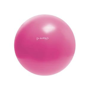 Minge pentru gimnastica hms yb01 55 cm roz
