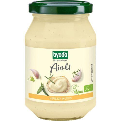 Aioli maioneza cu usturoi vegan bio Byodo