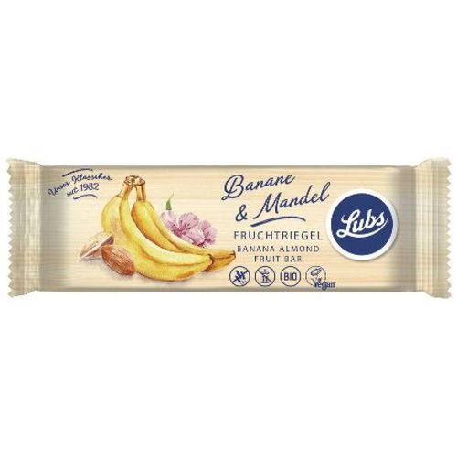 Baton cu banana si migdale fara gluten Lubs