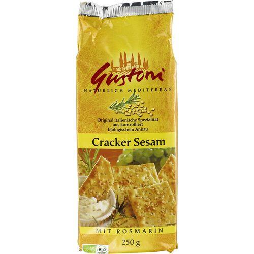Biscuiti crocanti cu susan si rosmarin Gustoni