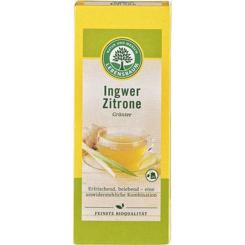 Ceai cu ghimbir si lamaie ecologic Lebensbaum