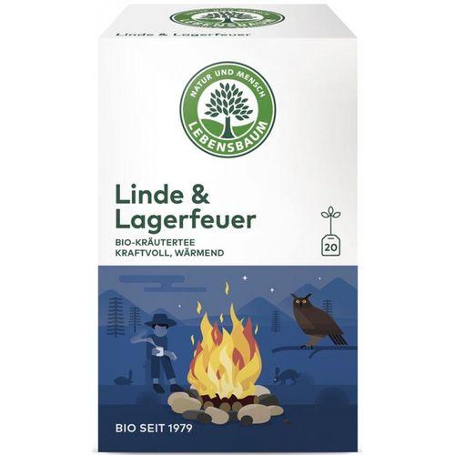 Ceai de tei & foc de tabara x20 plicuri Lebensbaum