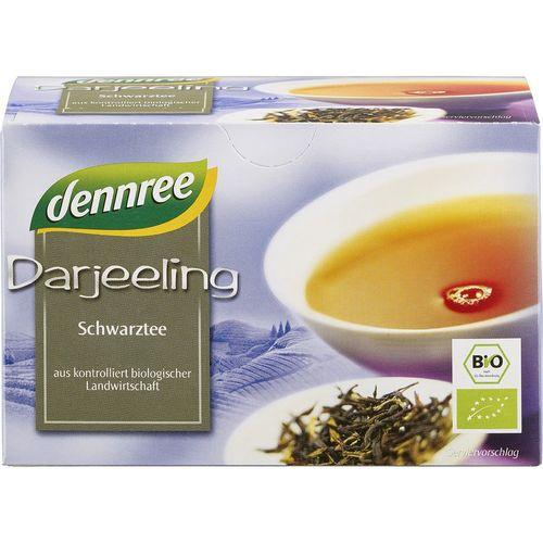 Ceai negru darjeeling bio Dennree