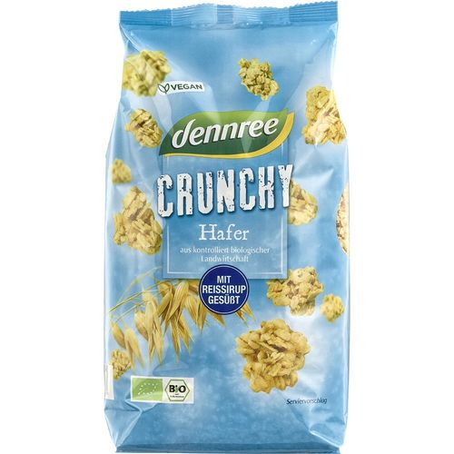 Cereale crocante din ovaz Dennree