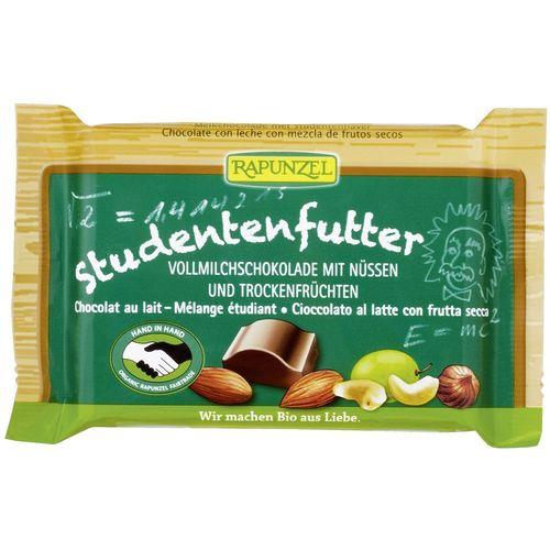 Ciocolata bio cu mix de fructe si alune Rapunzel