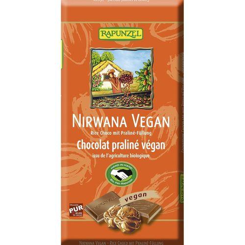 Ciocolata bio vegana nirwana Rapunzel