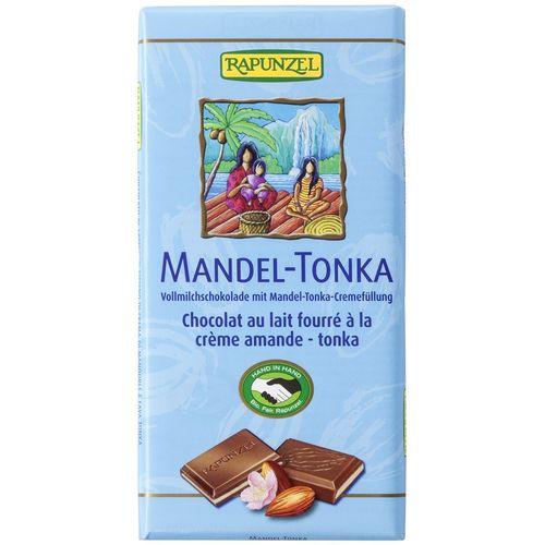 Ciocolata cu crema de migdale si tonka Rapunzel