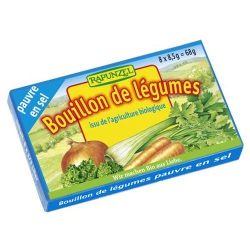 Cuburi de supă de legume cu puţină sare Rapunzel