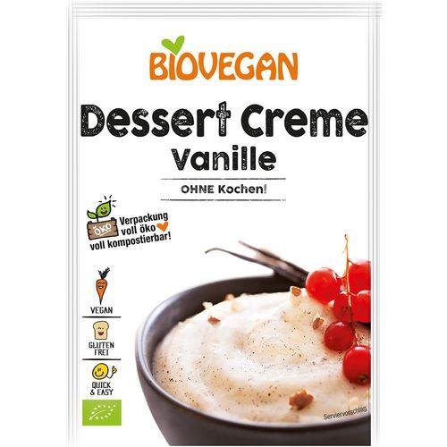 Desert cu vanilie fara fierbere Biovegan