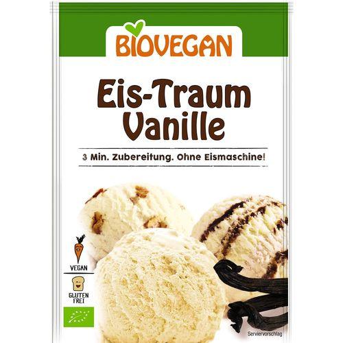 Inghetata de vanilie pudra bio Biovegan