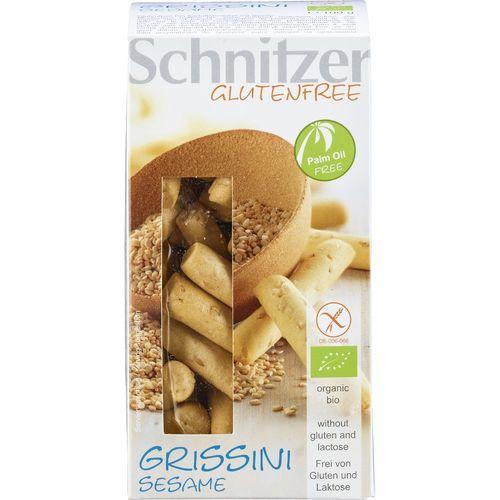 Mini grisine cu susan fara gluten Schnitzer