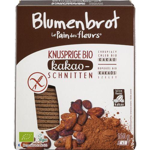 Paine bio cu cacao fara gluten Blumenbrot