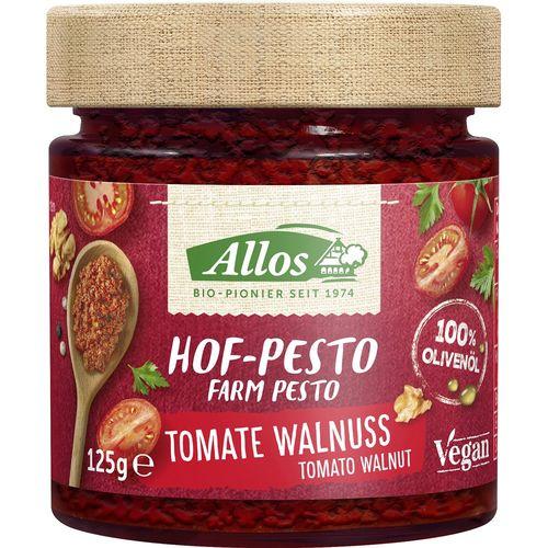 Pesto bio cu tomate si nuci Allos