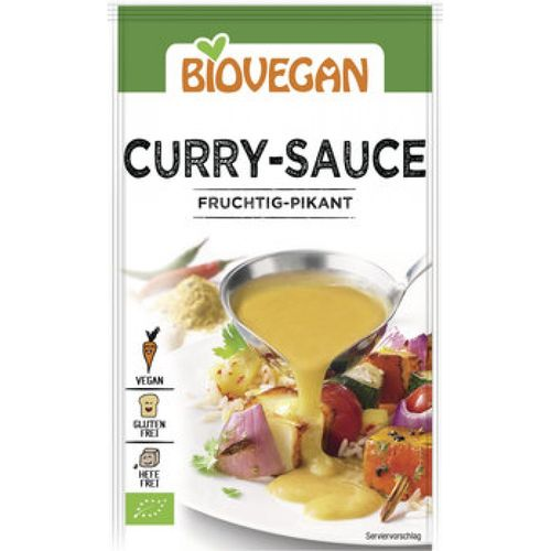 Sos curry vegan Biovegan