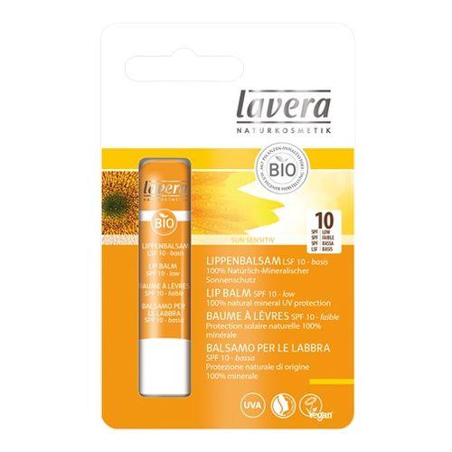 Balsam de buze cu factor de protectie solara spf10 Lavera