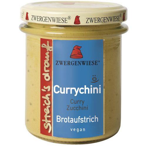 Crema bio tartinabila vegetala currychini cu curry si zucchini Zwergenwiese