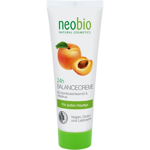 Crema echilibrare 24h cu ulei din samburi de caise NeoBio