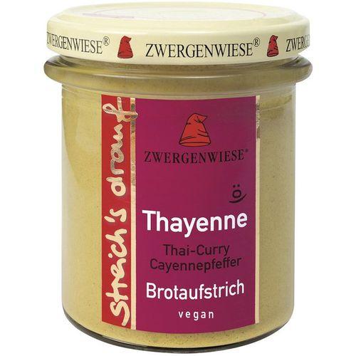 Crema tartinabila bio vegetala thayenne cu thai curry si piper de cayenne Zwergenwiese