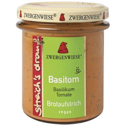 Crema tartinabila vegetala basitom  cu busuioc si tomate Zwergenwiese