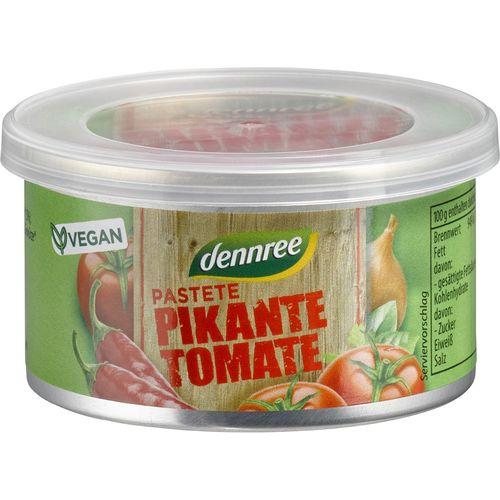 Pate bio picant cu tomate Dennree