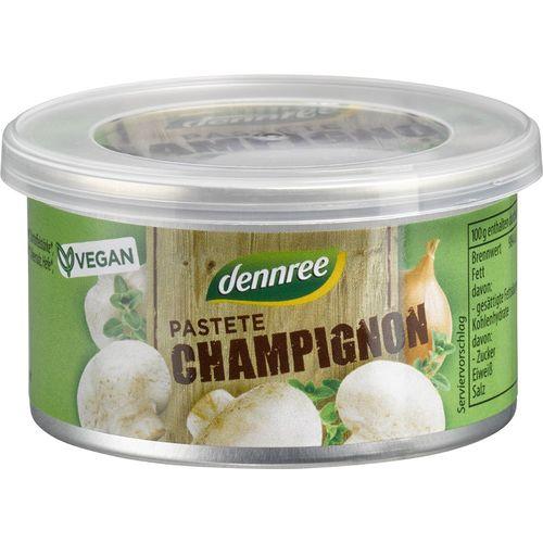 Pate cu ciuperci champignon Dennree