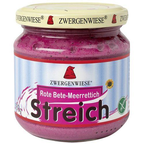 Pate vegetal cu sfecla rosie si hrean fara gluten Zwergenwiese