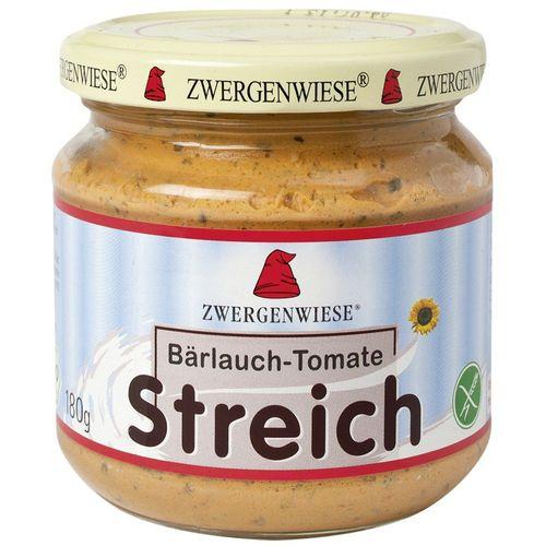 Pateu bio vegetal cu usturoi salbatic si tomate fara gluten Zwergenwiese