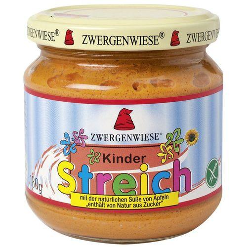 Pateu bio vegetal pentru copii indulcit cu suc de mere fara gluten Zwergenwiese