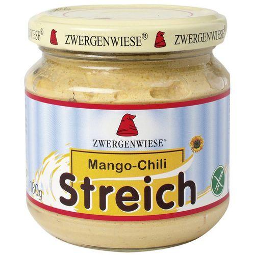 Pateu vegetal cu mango si chilli fara gluten Zwergenwiese