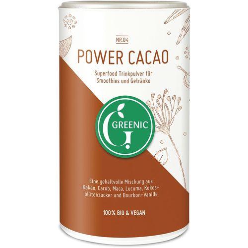 Pudra cacao power pentru baut Greenic