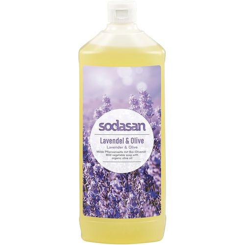 Sapun lichid cu lavanda si masline bio rezerva reumplere Sodasan