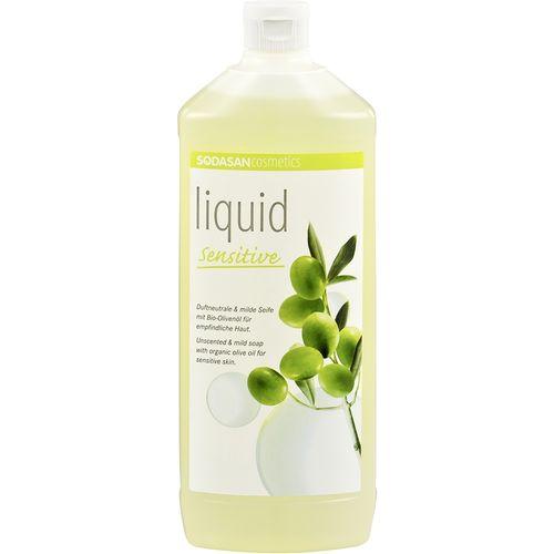 Sapun lichid pentru ingrijire naturala sensitiv refill Sodasan