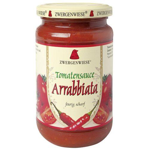 Sos bio de tomate arrabbiata cu ardei iute Zwergenwiese