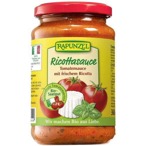 Sos bio de tomate ricotta Rapunzel