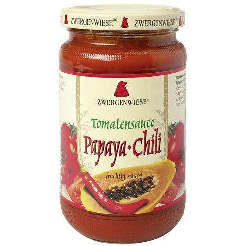 Sos de tomate bio papaya-chili Zwergenwiese