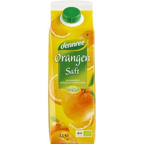Suc de portocale ecologic 1l Dennree