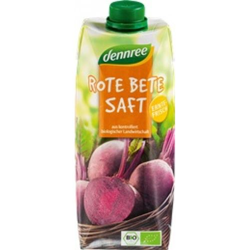 Suc de sfecla rosie bio vegan Dennree