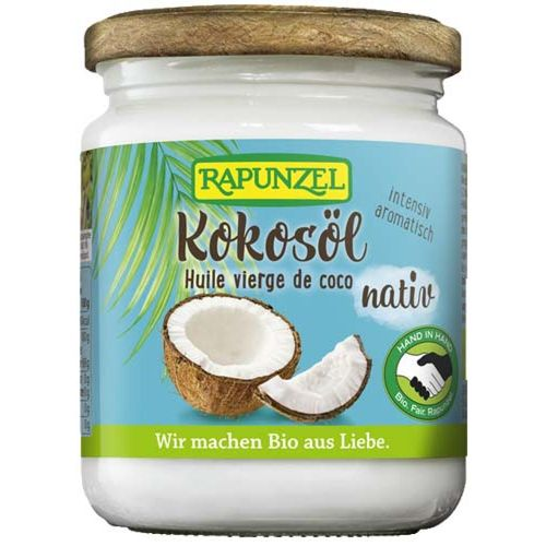 Ulei de cocos bio virgin Rapunzel