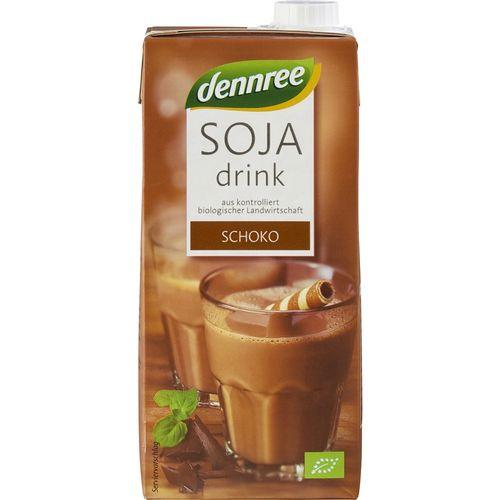 Bautura de soia bio cu ciocolata Dennree
