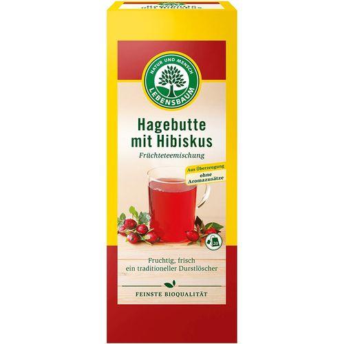 Ceai de macese si hibiscus bio Lebensbaum