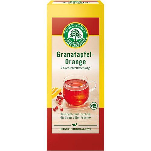 Ceai de rodie cu portocala bio Lebensbaum