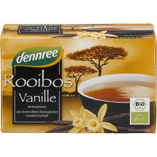 Ceai rooibos cu vanilie bio Dennree