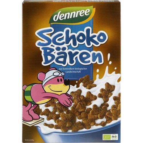 Cereale ursuleti de ciocolata bio Dennree