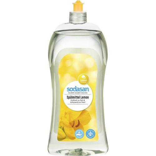 Detergent bio de vase lichid cu lamaie Sodasan