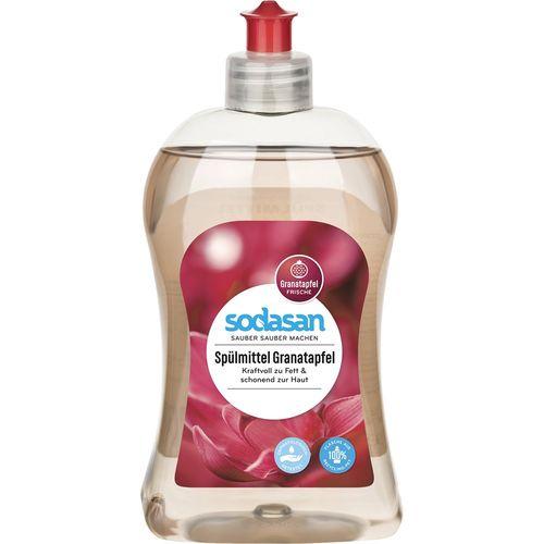 Detergent lichid cu rodie pentru vase sodasan Sodasan