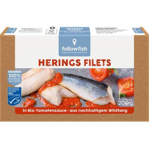 File de hering in sos te tomate bio Followfish