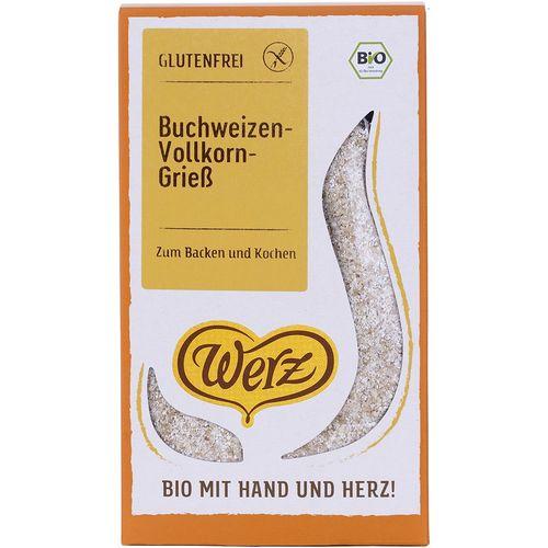Gris bio de hrisca integrala fara gluten Werz